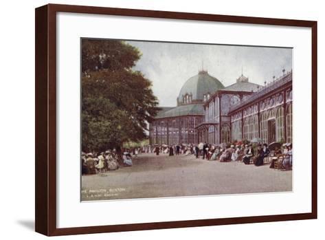 The Pavilion, Buxton--Framed Art Print