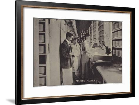 Making Plates--Framed Art Print