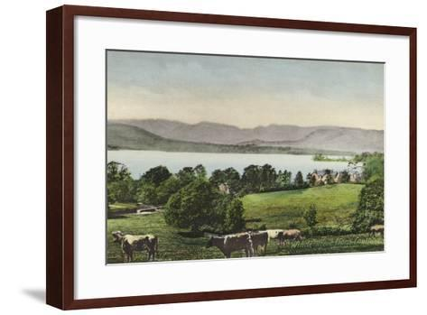 Windermere from Low Wood--Framed Art Print