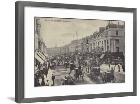 Regent Street, London--Framed Art Print