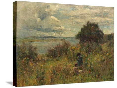 Summer Flowers, C.1913-Joshua Anderson Hague-Stretched Canvas Print