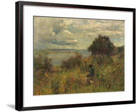 Summer Flowers, C.1913-Joshua Anderson Hague-Framed Art Print