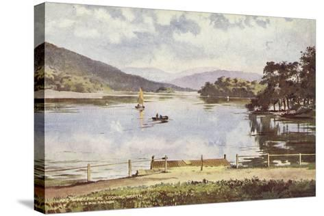 Lake Windermere Looking North--Stretched Canvas Print