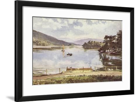Lake Windermere Looking North--Framed Art Print