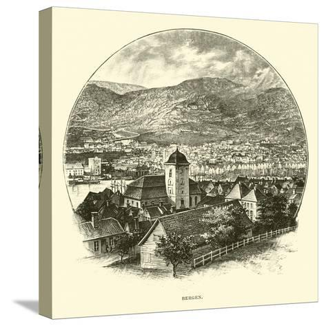 Bergen--Stretched Canvas Print