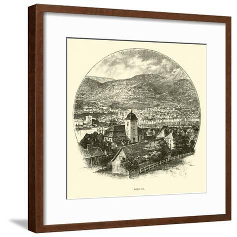 Bergen--Framed Art Print