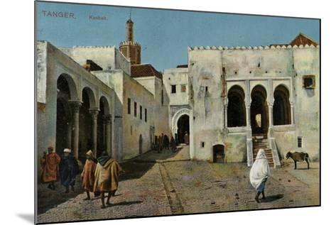 Kasbah, Tangier--Mounted Photographic Print