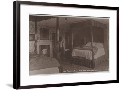 The Pickwick Room, White Horse Hotel, Ipswich--Framed Art Print