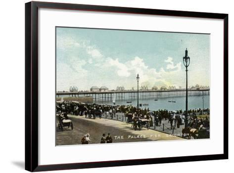 The Palace Pier in Brighton--Framed Art Print