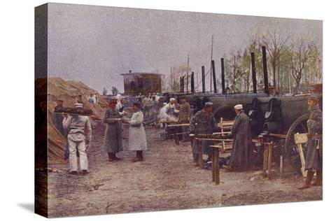 German Field Bakery, World War I, 1914-1915--Stretched Canvas Print