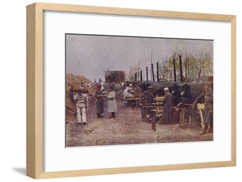 German Field Bakery, World War I, 1914-1915--Framed Art Print