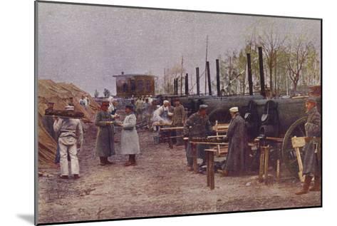 German Field Bakery, World War I, 1914-1915--Mounted Photographic Print