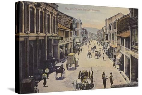 Beach Street, Penang--Stretched Canvas Print