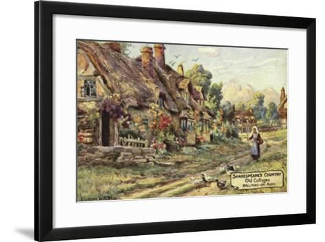 Old Cottages, Welford-On-Avon, Warwickshire--Framed Art Print