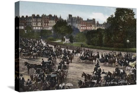 Hyde Park Corner, London--Stretched Canvas Print
