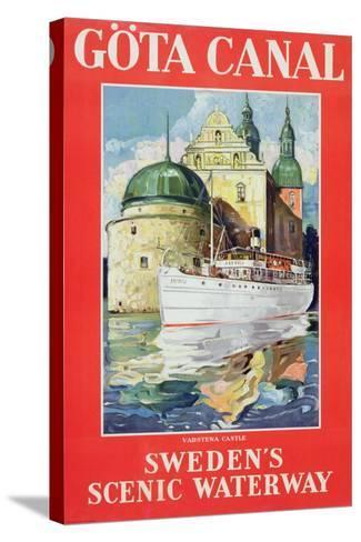 Göta Canal, C.1938--Stretched Canvas Print