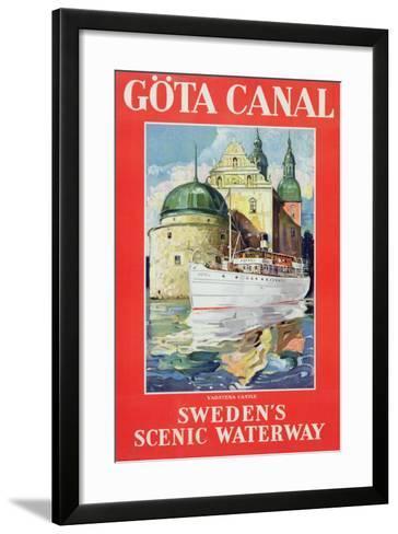 Göta Canal, C.1938--Framed Art Print