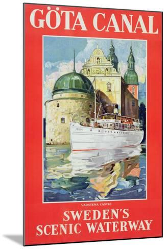 Göta Canal, C.1938--Mounted Giclee Print