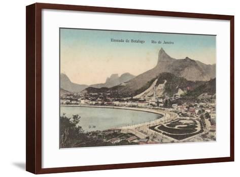 Botafogo Beach, Rio De Janeiro, Brazil--Framed Art Print