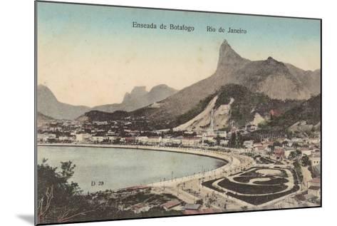Botafogo Beach, Rio De Janeiro, Brazil--Mounted Photographic Print
