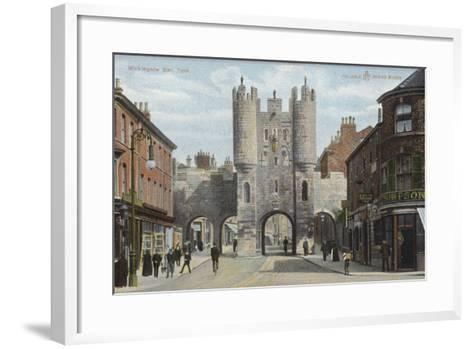 Micklegate Bar, York--Framed Art Print