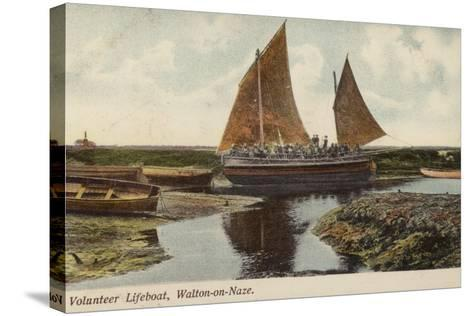 Volunteer Lifeboat, Walton-On-Naze--Stretched Canvas Print