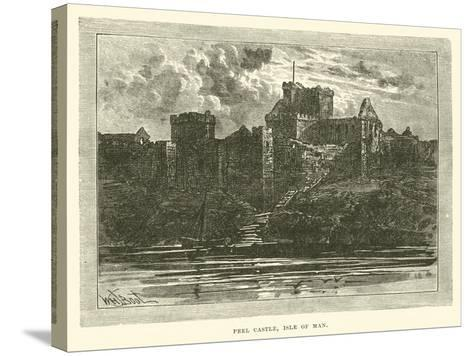 Peel Castle, Isle of Man--Stretched Canvas Print