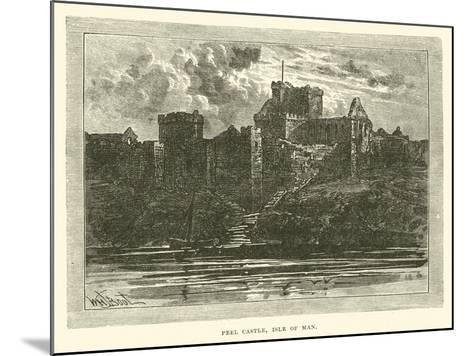 Peel Castle, Isle of Man--Mounted Giclee Print