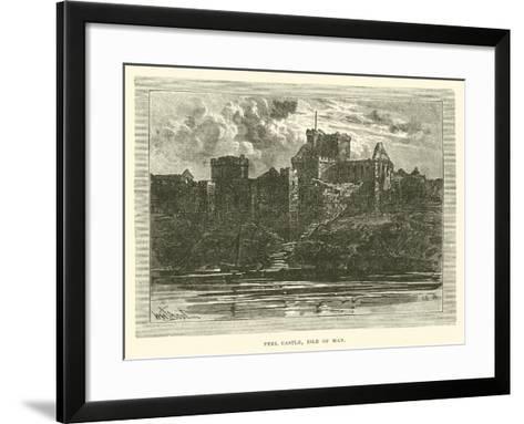 Peel Castle, Isle of Man--Framed Art Print