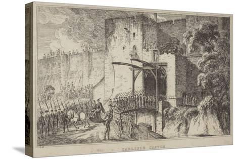 Carlisle Castle--Stretched Canvas Print