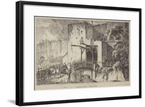 Carlisle Castle--Framed Art Print