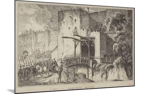 Carlisle Castle--Mounted Giclee Print