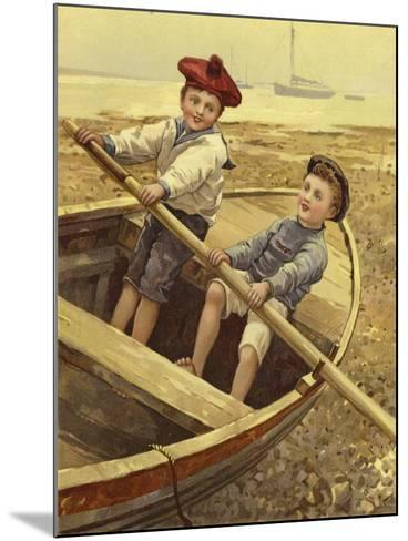 Dry-Land Sailors--Mounted Giclee Print