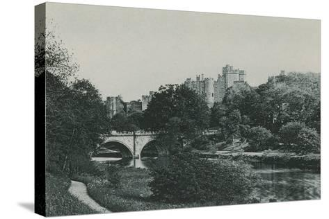 Alnwick Castle--Stretched Canvas Print