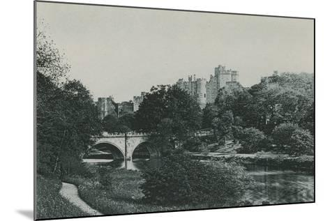 Alnwick Castle--Mounted Photographic Print