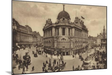 Aldwych, London--Mounted Photographic Print