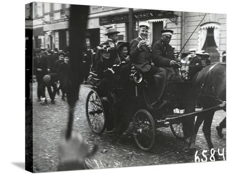 1st of May Celebrations in St. Petersburg, C.1905--Stretched Canvas Print