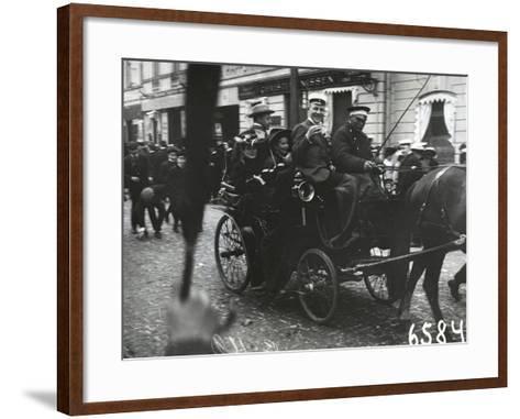 1st of May Celebrations in St. Petersburg, C.1905--Framed Art Print