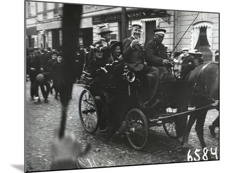 1st of May Celebrations in St. Petersburg, C.1905--Mounted Photographic Print