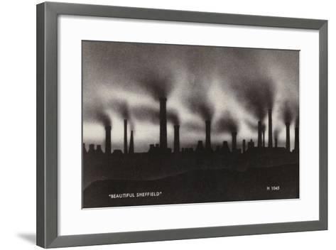 """Beautiful Sheffield""--Framed Art Print"