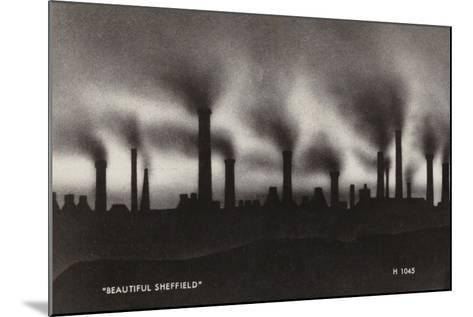 """""""Beautiful Sheffield""""--Mounted Photographic Print"""
