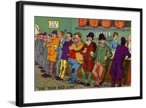 The Thin Red Line--Framed Art Print