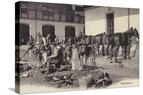 Mobilisation, World War I--Stretched Canvas Print