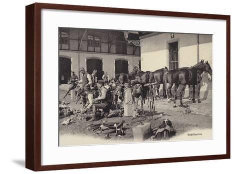 Mobilisation, World War I--Framed Art Print