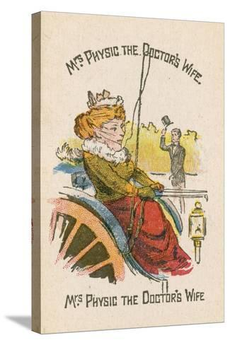 Mrs Physic the Doctor's Wife--Stretched Canvas Print