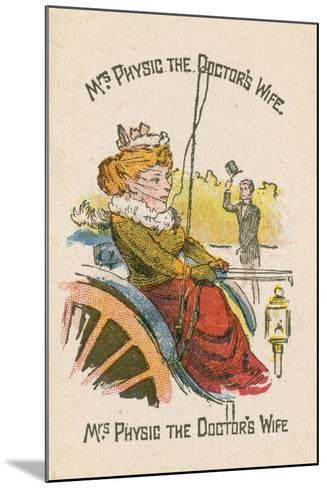 Mrs Physic the Doctor's Wife--Mounted Giclee Print