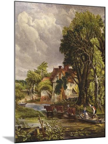 Valley Farm-John Constable-Mounted Giclee Print
