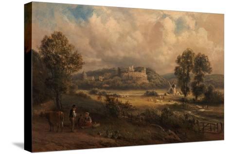 Arundel Castle, Sussex, 1890-Thomas Jr. Whittle-Stretched Canvas Print