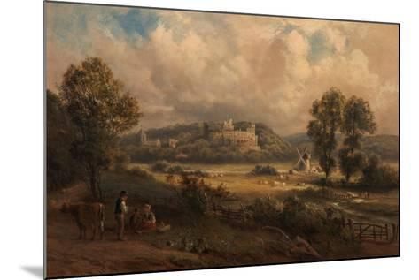 Arundel Castle, Sussex, 1890-Thomas Jr. Whittle-Mounted Giclee Print