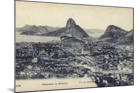 Botafogo; Rio De Janeiro, Brazil--Mounted Photographic Print